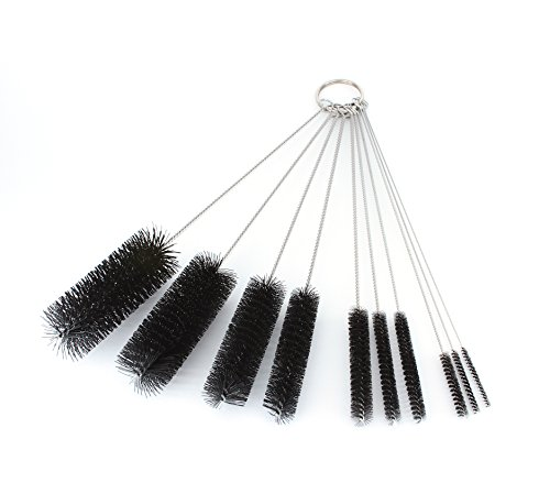 8-Inch-Nylon-Tube-Brush-Set-Variety-Pack-10-pieces-0